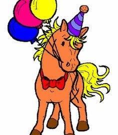 anniversaire à poney