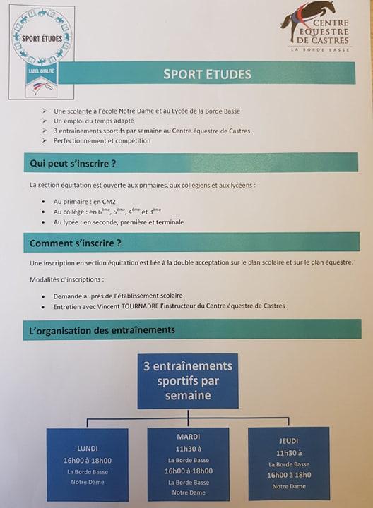 sport étude1