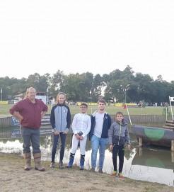 reco du cross au championnat de France à Tartas