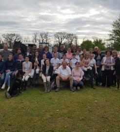 l'équipe au CCE club du Vernet
