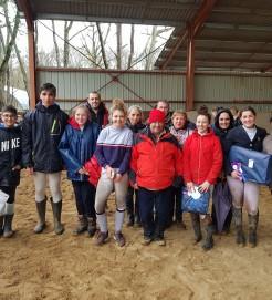 l'équipe au CCE amateur de Pibrac