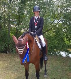Anais Maffre et Ballerine vice championne de france  CCE club2 2018